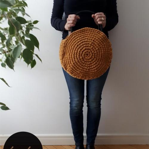Háčkováná taška z Paulíny - návod