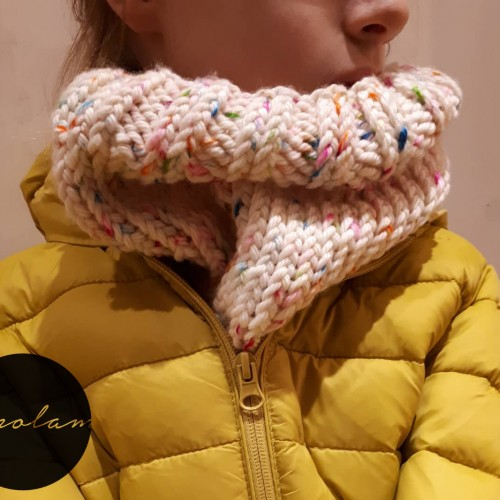 SANDNES GARN KONFETTI SNOOD FREE PATTERN