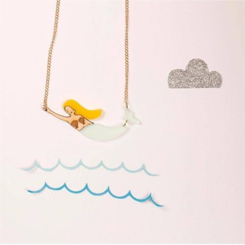 náhrdelník morská panna