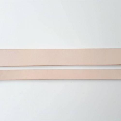 kožený pás na výrobu ušiek na tašku 1 m