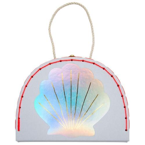 morská panna v kufríku