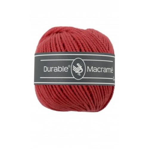 durable macramé - 316 red