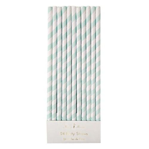 papierové slamky  - viac farieb