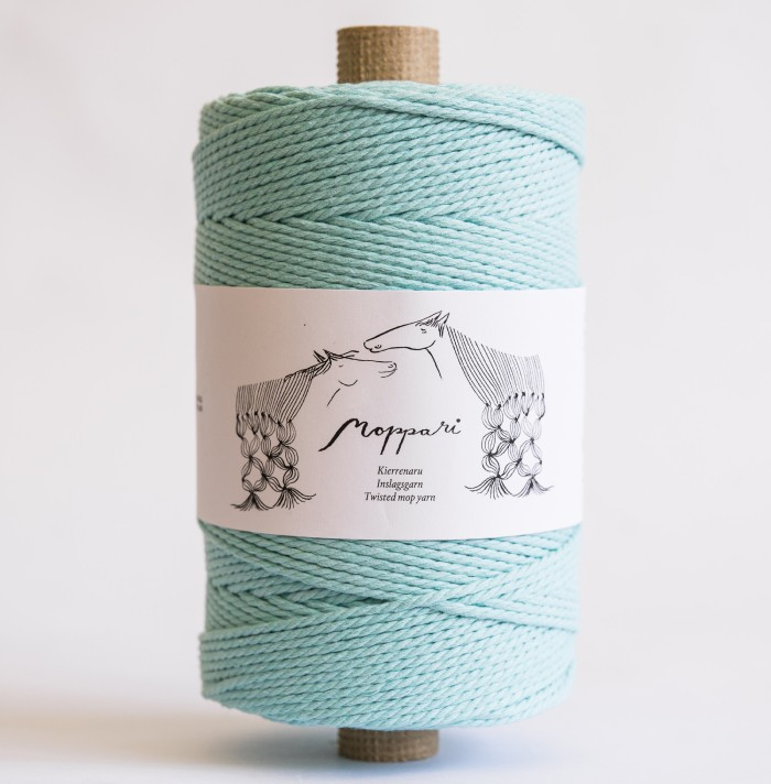 moppari - svetlý tyrkys