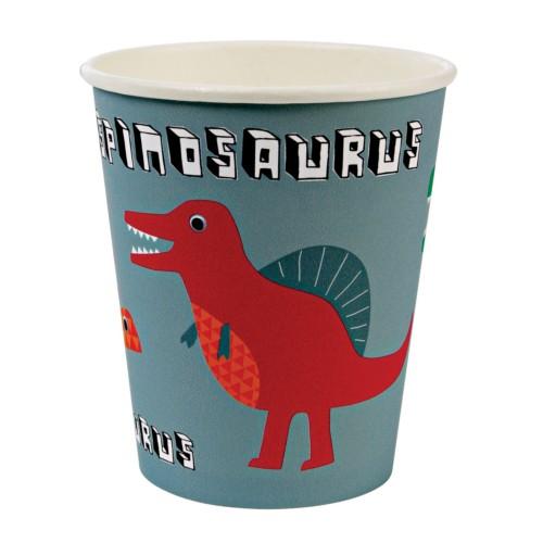 party poháre dinosaurus