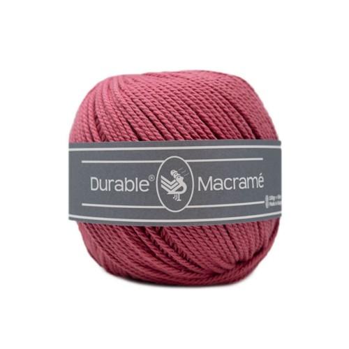 durable macramé - 228 raspberry