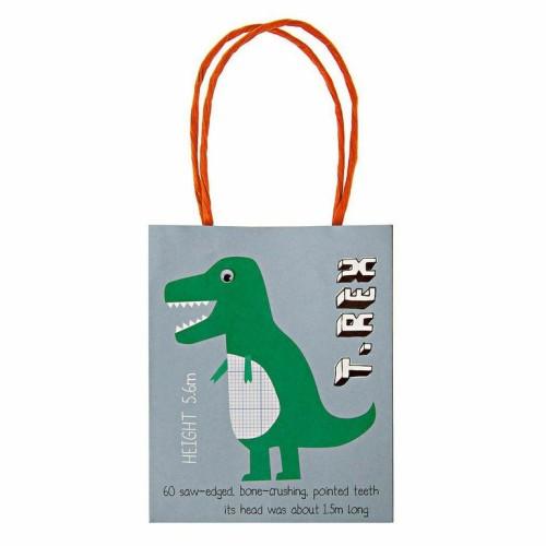 darčeková taška dinosaurus