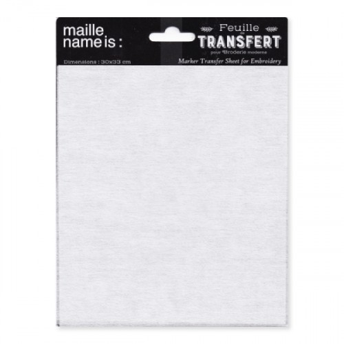 transferový papier na prekreslenie vzoru pri vyšívaní / punch needle