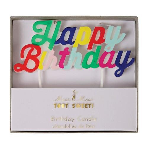 sviečka happy birthday