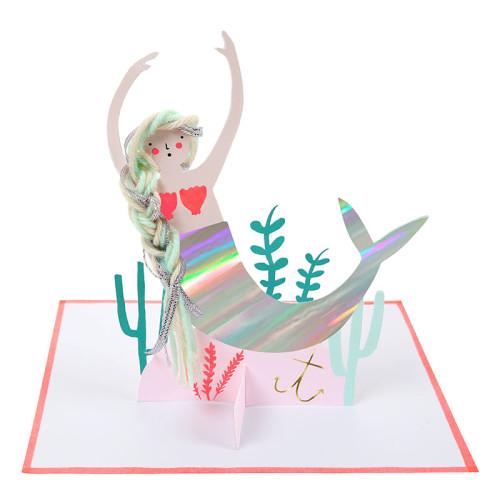 blahoželanie / pohľadnica morská panna