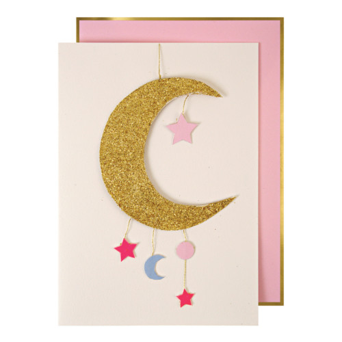 blahoželanie / pohľadnica k narodeniu dievčatka