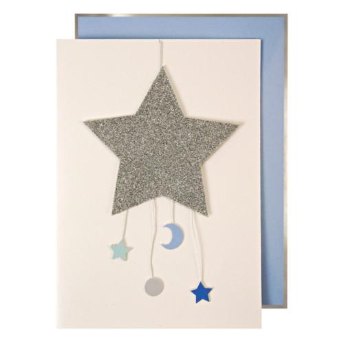 blahoželanie / pohľadnica k narodeniu chlapčeka