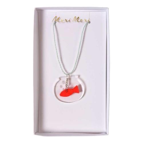 náhrdelník akvárko