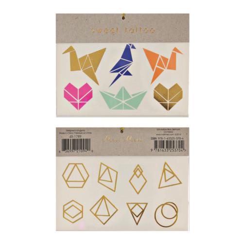 tetovačky geometrické tvary