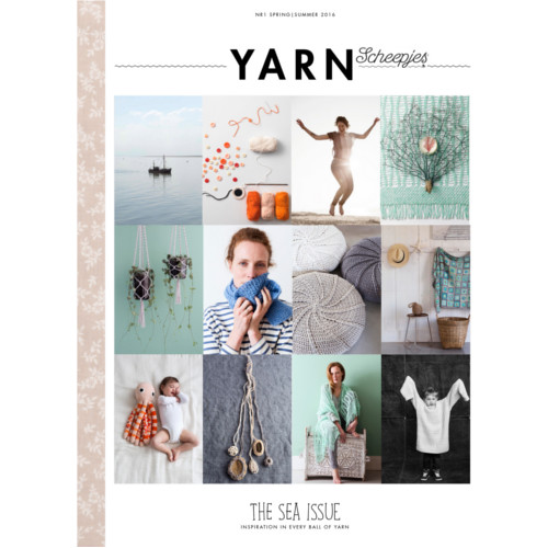 scheepjes yarn bookazine 01 - the sea issue (v anglickom jazyku)