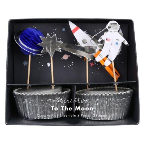 sada na cupcake vesmír
