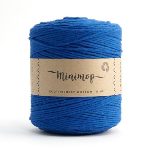 minimop - kobaltová modrá